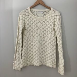 Alfred Sung knit pattern sweater